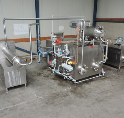 Gereviseerde margarinemachines